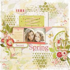 Secret Spring by Eudora Designs Template by Fiddle-Dee-Dee-Designs  Photo Caroline