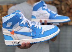"Air Jordan 1 ""UNC"" x Off-White"