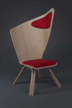 Practical Way to Take a Rest During Studying: Bravo Chair by Matte Nyberg