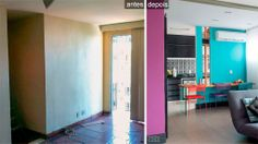 Menos paredes e mais cores trouxeram luz e aconchego ao apê no Rio - Casa