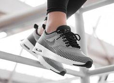 Nike Air Max Thea KJCRD 'Pinstripe' Black/White post image #nike #airmax