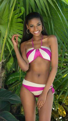 Photos : Miss Univers : découvrez les 88 candidates en bikini ! Bikini Babes, Hot Bikini, Bikini Girls, African Beauty, African Women, Gown Pictures, Photos, Miss Universe Swimsuit, Miss Universe 2014