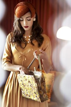 I want to wear this. Such a vintage feel so pretty x