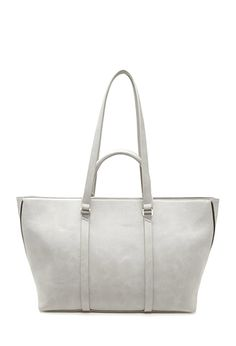 Side Zip Faux Leather Tote from Forever 21 $29,90