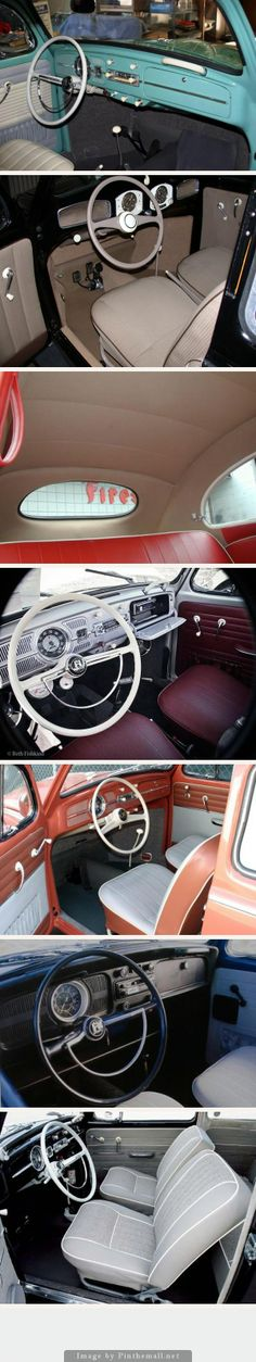 VW INTERIORS: 1949 to 1970s [Refurbished] I love that in dash glove box! I'm so glad VW brought it back in the 2012s