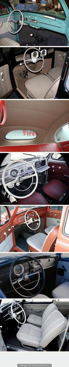 VW INTERIORS: 1949 to 1970s [Refurbished]
