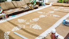 @tmemme28 & @paigehemmis  DIY a Burlap Aisle Runner for Paige's wedding! Catch #homeandfamily weekdays at 10/9c on Hallmark Channel!