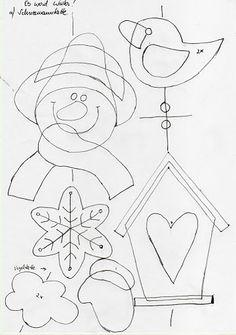 Téli dekoráció Kreatív Mánia | Kézműves blog Board Decoration, Class Decoration, Diy And Crafts, Christmas Crafts, Paper Crafts, Crochet Santa, Christmas Wall Hangings, Wall Hanging Crafts, Christmas Templates
