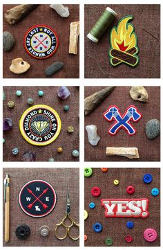 Pick 3 Patches Scouting Scout Camp Camping by ShopRedArrow on Etsy