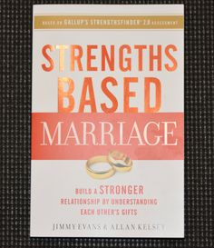 Strengths Based Marriage #bookreview at the link