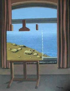 'The Human Condition' - René Magritte.