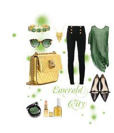 Designer Clothes, Shoes & Bags for Women Gucci London, Emerald City, 3.1 Phillip Lim, Essie, Balmain, Shoe Bag, Polyvore, Stuff To Buy, Shopping