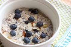 How to make my favorite breakfast? Chia Almond Muesli with Blueberries. Click here for the recipe: http://foodconfidence.com/2013/02/02/recipe-chia-almond-muesli-with-blueberries/