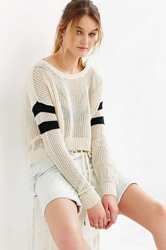 BDG Ruby Striped Sweater - Urban Outfitters