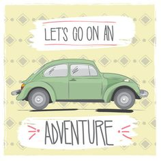 Let's Go On An Adventure Vector Graphic ❤ liked on Polyvore featuring words and text
