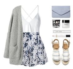 """""""White Shirt"""" by amazing-abby ❤ liked on Polyvore featuring Dondup, Olive + Oak, Dorothy Perkins, Bobbi Brown Cosmetics and L'Oréal Paris"""