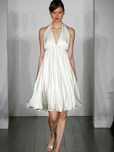 6b37ff1475 Pretty Wedding Dresses for the Beach - Glam Bistro Wedding Dresses With  Straps, Dream Wedding
