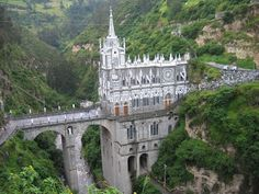 This is one of the most interesting churches that I have ever seen. Note the statue in the nook within the bridges column. Wow. Las Lajas Sanctuary is a basilica church located in the southern Colombian Department of Nariño, municipality of Ipiales and built inside the canyon of the Guaitara River. The cathedral is of […]