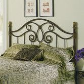 Found it at Wayfair - Dynasty Metal Headboard