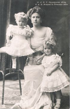 Alice with Theodora and Margarita
