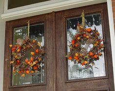 Country Autumn wreaths