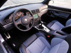 Bmw E39 M5 interior