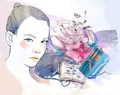 Part of the 17 illustrations for Divka.ro  by Ioana Sopov