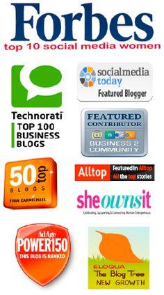 forbes top 10 social media power influencer