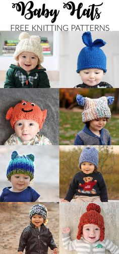 Free Baby Hat Knitting Patterns