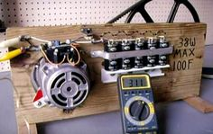 Build Your Own Generator Using a Dish Washer Motor