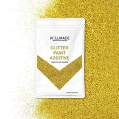 Silver+Gold glitter paint additive👀 great result by mixing with any color of paint Glitter Paint Additive For Walls, Gold Glitter Paint, Interior Paint, Interior And Exterior, How To Varnish Wood, Diy Wall Painting, Diy Arts And Crafts, Decorating Tips, Sparkle