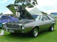 Rambler AMX (an AMC AMX assembled by AMI) Mopar, Cars Motorcycles, Cool Cars, Badass, Australia, Cool Stuff, Retro, Vehicles, Garage