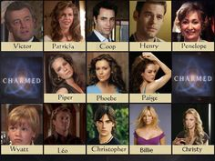 Charmed screen by on DeviantArt Serie Charmed, Charmed Tv Show, Paige Wyatt, Charmed Quotes, Leo Christopher, Charmed Characters, Julian Mcmahon, Charmed Book Of Shadows, Charmed Sisters