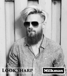 thelastofthewine:  milkmanaustralia:   Keep your beard beautiful and shape it with any style with its fine style, handmade pear wood comb.  ***bloody handsome Aussie lad