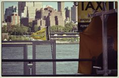 Taxi boat, NYC