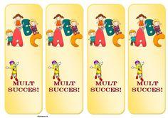 Semne de carte -ABC Scooby Doo, Back To School, Kindergarten, Blog, Pray, 1st Grades, Kindergartens, Blogging, Entering School