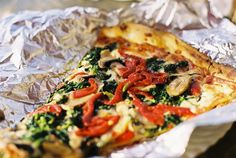 If you're craving NY style pizza, East Side Pies is waiting for you. Grab and go is the best option from their tiny place. Order extra slices, you'll want them later.