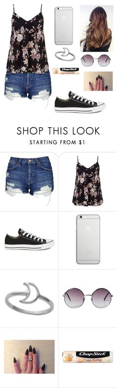"""•Random•"" by xxgraveyardbabyxx ❤ liked on Polyvore featuring Topshop, Miss Selfridge, Converse, Native Union, Monki and Chapstick"