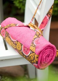 Diy How To Make A Tote Bag That Turns Into A Beach Towel