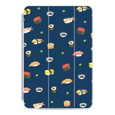 Sushi (すし,寿司) Japanese food blue iPad mini by imushstore - iPad Cover... (375 SEK) ❤ liked on Polyvore featuring accessories, tech accessories, ipad cover / case, ipad cases, apple ipad case, apple ipad mini case and ipad mini case