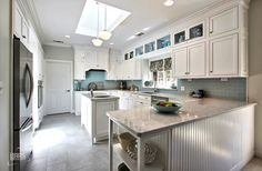 Haas Cabinet: Richmond-V Maple kitchen in White Submitted by ...