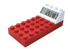 Una calculadora de lego.