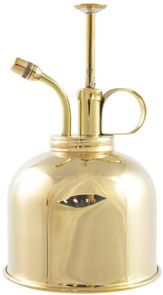This brass Victorian-style mist-sprayer can hold 300ml of water and is notably more sophisticated than the various plastic versions available. Over time, the brass will also develop a patina, adding further character. As many green thumbs know, not all plants want to be misted (also keep in mind humidity, seasons and more) so while it's a useful tool, it's not for everybody in your plant family.