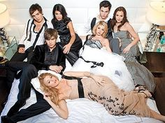 Gossip Girl here, your one and only source into the scandalous lives of Manhattan's elite... -xoxo Gossip Girl. I judged my sister for liking this show but then I started watching it and I was hooked. :)