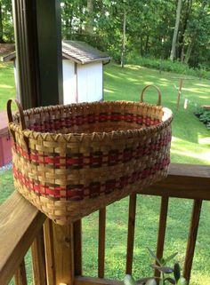 Beautiful blanket basket