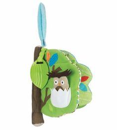 Skip Hop Treetop Friends Soft Activity Book by Skip Hop. $13.78. From the Manufacturer                Open up and explore a wonderland of forest friends and activities in this soft, take-a-long book.                                    Product Description                307501 Features: -Activity book.-Embroidered details and textures.-Open up and explore a wonderland of forest friends.-Activities in this soft, take-a-long book.-Peek-a-boo flap.-Tug-gable leaf-shaped ...
