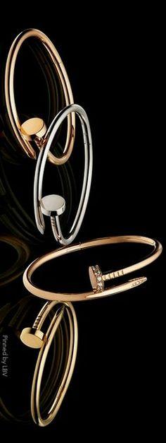 Cartier Juste un Clou Collection Funky Jewelry, Girls Jewelry, Jewelry Accessories, Fashion Accessories, Women Jewelry, Jewelry Design, Graff Jewelry, Luxury Jewelry, Jewelry Closet