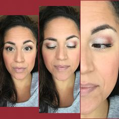 WSU Inspired Look of the Day! Products used: 💗Palette #2 - Romantic 💗Precision Pencil - Perfect/ Pristine 💗Mineral Pigment - Heartbroken/ Curious 💗3D Fiber Lashes+ Mascara   Find your favorite spots team colors at ConfidentlyYou.net