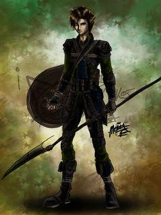 Forest Soldier complete by IKittyCakes.deviantart.com on @deviantART