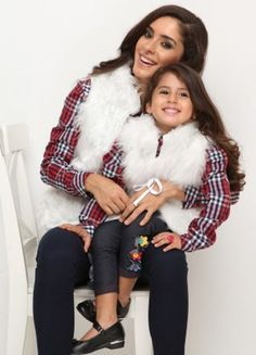 Mommy and me Holiday styles,